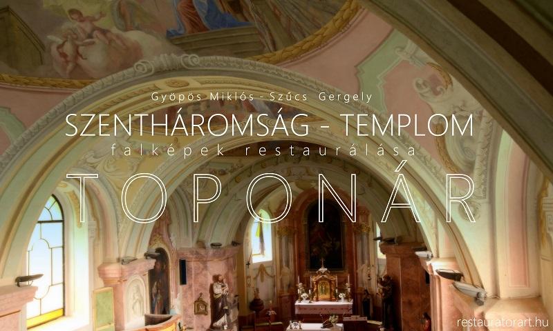 falképek restaurálása, freskó restaurálás, képrestaurálás, templomi restaurálás, templomok falképeinek felújítása