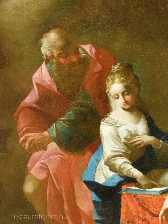 resturátor restaurálás templomi képek restaurálása painting restorer malerei
