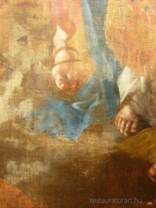festény restaurálása régi képek javítása tisztítása festőrestaurálás