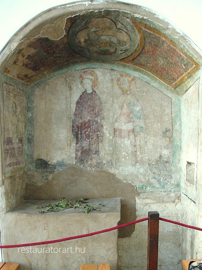 kozepkori falkep siklos kulturalis orokseg restauratorart restauralas helyreallitas konzervalas (5)
