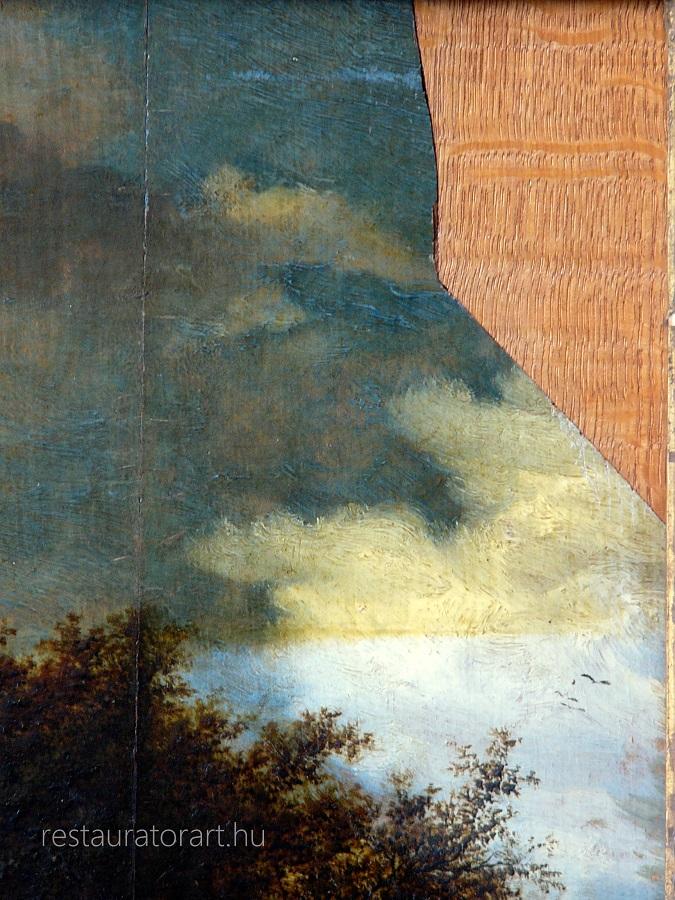szépművészeti múzeum holland fatáblakép restaurálása velekei mária restaurátor