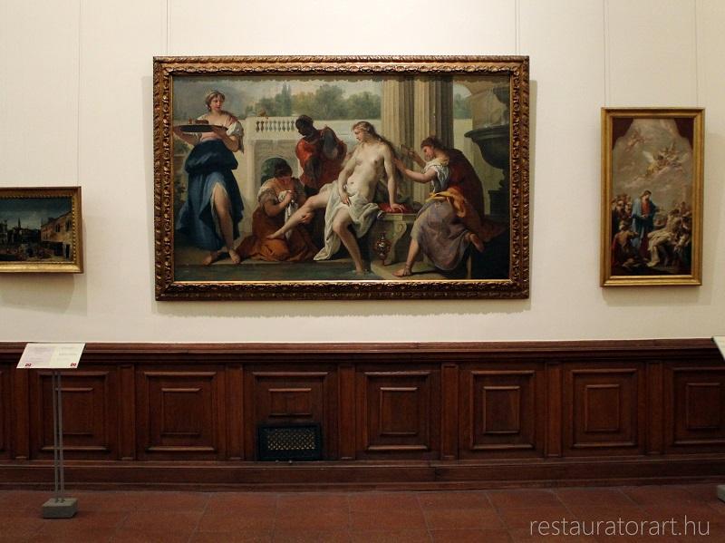 restaurálás, festmény restaurálás, restaurátor, olajfestmény restaurálása, restauratorart, restaurator art, fetsmények javítása