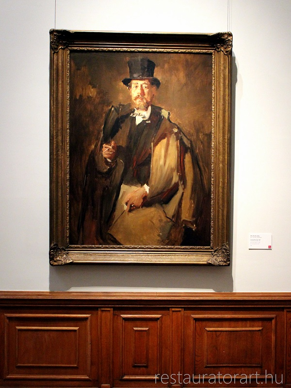 német realizmus wilhelm leibl olajfestmény restaurálása festmény tisztítása kép restaurálás restauratorart