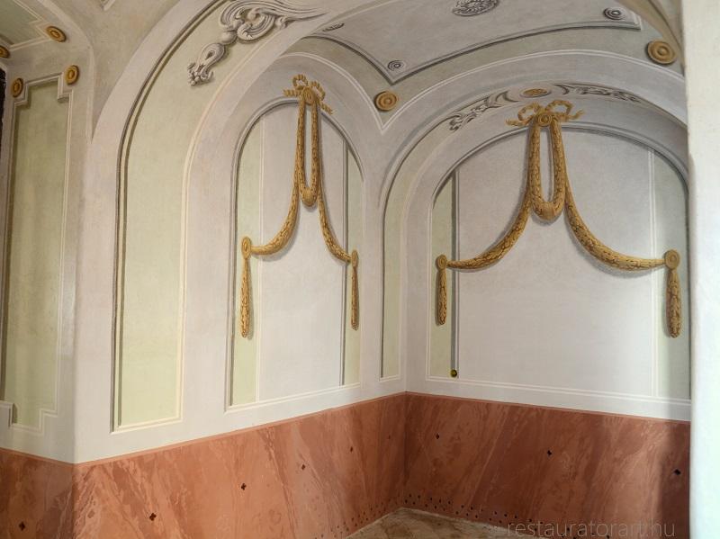 freskórestaurálás, falkép restaurálás, falkép restaurátor, kép restaurálás, restaurálás, templomrestaurálás, templomfestők, templom felújítás