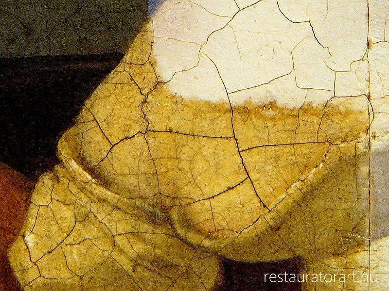 festmenyek letisztítasa elsotetult kepek feltarasa restauratorart muhely (3)