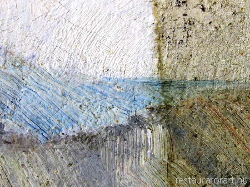 festmenyek letisztítasa elsotetult kepek feltarasa restauratorart muhely (6)